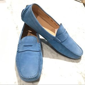 Cole Haan Suede Driving Loafers